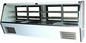 """Cooltech Refrigerated High Deli Meat Display Case 84"""""""
