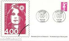 1991**ENVELOPPE ILLUSTREE***FDC 1°JOUR!!**MARIANNE**TIMBRE Y/T 2717