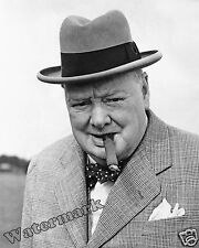 Photograph of Prime Minister Sir Winston Churchill Year 1949  8x10