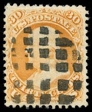 momen: US Stamps #100 Used Fancy VF PF Cert