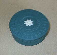 Wedgwood Jasperware Spruce Green Round Box