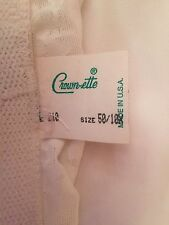 NWT Women's USA Made Crown-ette Girdle Shaping Panty Size 50~