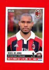 CALCIATORI Panini 2012-2013 13 -Figurina-sticker n. 263 - DE JONG -MILAN-New