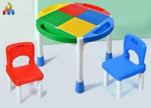 Jimu Toys Kids Activity Chair Table Set - 3 in 1: Learning, Storage and Play