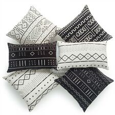 Hofdeco Decorative Throw Pillow Case Africa MUDCLOTH Print Bogolan Cushion Cover