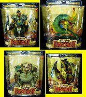 Legends of The Bladehunters 4 Figure Set New Basilisk Dragon McFarlane Toys '09