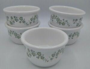 Corelle Coordinates Stoneware Callaway Ramekin Bowls / Custard Cup (5) 7 oz