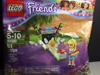 New LEGO Bowling Alley Polybag 30399 Friends 51 pcs Authentic Sealed