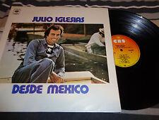 Julio Iglesias – A Mexico LP COLOMBIA Press 1975 CBS RARE MISPRINT(DESDE)