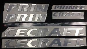 "PRINCECRAFT Boats Emblem 33"" + FREE FAST delivery DHL express"