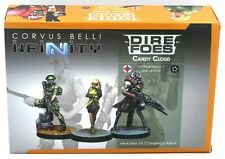 Infinity #709 Candy Cloud Dire Foes Mission Pack #7 Ariadna vs Combined Army NIB