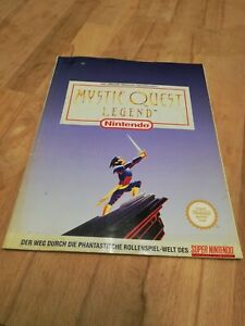 Mystic Quest Legend - SNES Spieleberater Lösungsbuch Super Nintendo PAL