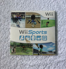 Nintendo Wii Sports complete tested