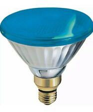 GE Brand 85 Watt Blue PAR38 Outdoor Flood Light Bulb E26 Base