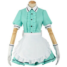 Blend S Kanzaki Hideri Lady Apron Maid Servant Womens Dress Suit Cosplay Costume