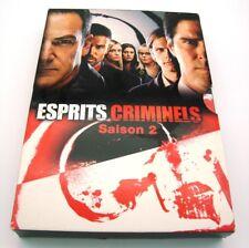 ESPRITS CRIMINELS SAISON 2 COFFRET 6 DVD