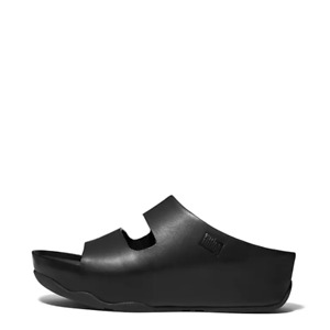 Women's Casual Two-Bar Leather Slides