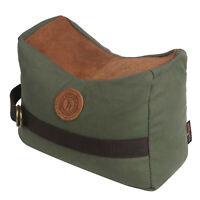 Tourbon Canvas and Leather Unfilled Shooting Bench Gun Rest Bag Target Stand