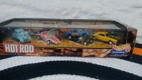 Hot Wheels Collectibles Hot Rod Magazine 4 Model Set