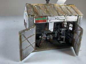 HO HOn3 Woodland Scenics Tucker Brothers machine shop Built! MR-23