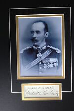 SIR HERBERT CHERMSIDE - DISTINGUISHED SOLDIER & GOVERNOR - SUPERB SIGNED DISPLAY