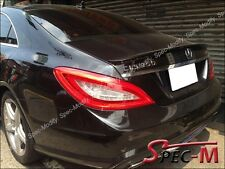 2011+ W218 CLS350 CLS500 CLS550 CLS63 AMG Style Painted Black Trunk Lip Spoiler