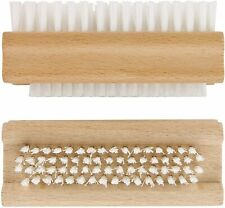 Nail Brush Manicure Pedicure Cleaning Scrubbing Soft Bristle Gentle Double Sided