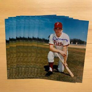 Lot Of (9) Don Money Signed 8x10 Photos Philadelphia Phillies Auto Autograph