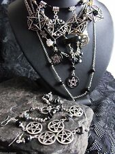 Silver Necklace Gothic Jewellery