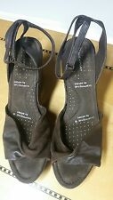Rockport Adidas Adiprene Brown Leather  Wedge With Ankle Strap Size 9.5M