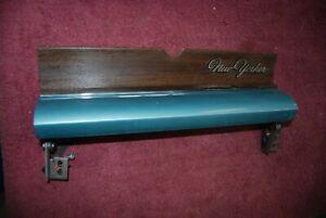 1965 Chrysler New Yorker Wood Grain Glove Box Lid Assembly NICE Original