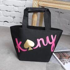Kate Spade Fashion Japanese Magazine Black Waterproof Shoulder Hand Bag