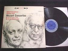 Mozart Concertos Casadesus w/Szell 6-Eye Stereo Odd Blue Label Columbia Ms-6194