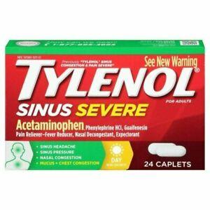 Tylenol Sinus Severe Daytime Caplets 325mg 24CT300450262257YN