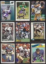 ALONZO MAYES Chicago Bears 1998 Bowman SIGNED / AUTOGRAPH Football Card