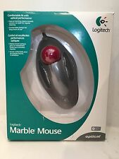 Logitech 904360-0403 Optical Marble Mouse (USB/PS2) New Open Box