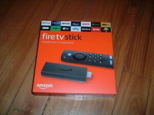 AMAZON FIRE TV STICK~ BRAND NEW~ MEDIA STREAMING DEVICE~ ALEXA~ 3RD GENERATION~