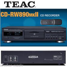 TEAC CD-RW890MKII CD Recorder CD-R CD-RW Digital Analog Input w/ Remote RW890MK2