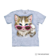 The Mountain 100% Cotton Blue Kids T-Shirt You've Cat to be Kitten Me S-M-L-XL