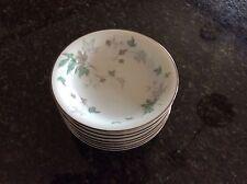 Noritake GREENWOOD  DESSERT/Fruit Bowls UNUSED Excellent condition