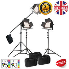 LED1000 Bicolour Video Lights Continuous Lighting Kit Interview CRI>90 Warranty