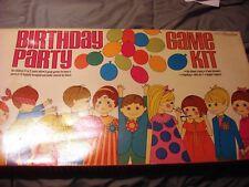 Birthday Party Game Kit No. 0350 Unopened Venus Esterbrook Corporation