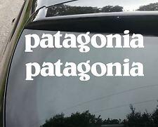 2x grands Patagonia surf Drôle Voiture / Fenêtre Jdm VW Euro Autocollant Vinyle Autocollant