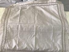 Hotel Collection Cotton Ladder Stitch Pique Sand Euro Pillow Sham