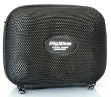 Digicom Hard Clam-Shell Camera Case For Compact Digital Cameras - Black