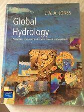 Global Hydrology, Pearson Prentice Hall, 1997, J A A Jones