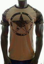 ARMY STAR Digitize Digital Camo Tan DRIFIT Material T-Shirt Mens Large 42/44 NWT