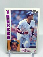 1984 Topps DAVE WINFIELD New York Yankees Baseball Card #460