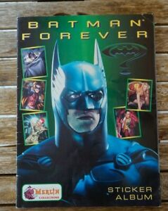 MERLIN BATMAN FOREVER STICKER ALBUM FROM GREECE 1995