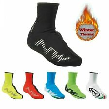 Thermal Cycling Shoe Cover Winter Fleece Road Race MTB Over Bike Shoes Covers
